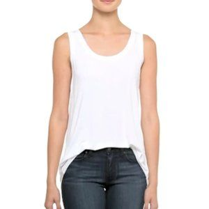 Bailey 44 White Tank Top